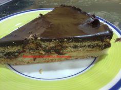 Recopilatorio de recetas : Tarta de chocolate y galleta de la abuela en la thermomix