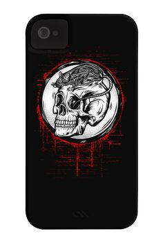 Rat and Skull Phone Case for iPhone 4/4s,5/5s/5c, iPod Touch, Galaxy S4