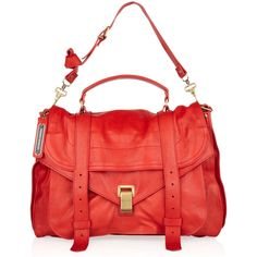 Proenza Schouler PS1 Extra Large leather satchel via Polyvore