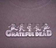 Grateful Dead Dancing Bear Tee | Zebop Shop