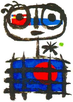 A painting of Joan Miro I would like to get as a tattoo