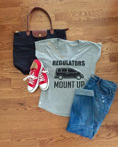 323c173ec2c Regulators Mount Up Tee 90 s Throwback T-shirt