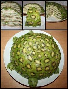 kiwi cake    More photos from Ani ta