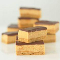 chocolate tahini shortbread bars
