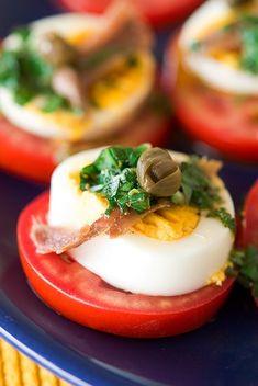 Яйца по-партенопейски/ Uova alla partenopea | Элла Мартино Рецепты Кулинарные туры Итальянская кухня
