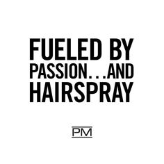 Whatever it takes! ‍♀️ #Passion #IHeartPM #Hair