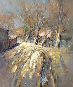 River outskirts of town by Alexi Zaitsev