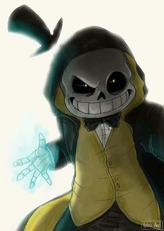 UnderTale Sans Crossover Bill Gravity Falls