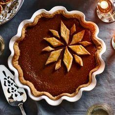 Classic Pumpkin Pie-2 pie fillings===     1 1/4 cups firmly packed dark brown sugar     1 Tbs. cornstarch     1/2 tsp. salt     1 1/2 tsp. ground cinnamon     1/2 tsp. ground ginger     1/4 tsp. freshly grated nutmeg     1/8 tsp. ground cloves     2 cups (15 oz./470 g) pumpkin puree     3 eggs     1 cup (8 fl. oz./250 ml) heavy cream     1/3 cup (3 fl. oz./80 ml) milk     Prebaked and cooled deep-dish piecrust