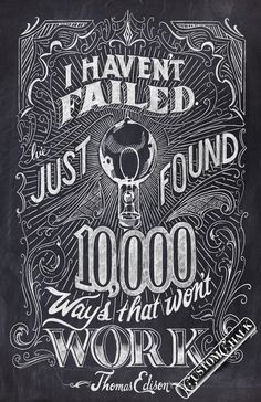 Chalk Typography 3 For the greatness of chalk... • typostrate