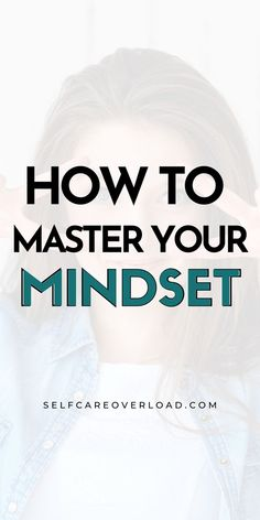 Learn ways to master your mindset with these 5 powerful but simple tools to help you slay your goals in life. Create your best life. Negative Thoughts, Positive Thoughts, Self Development, Personal Development, Coping With Depression, Alternative Therapies, Practice Gratitude, Positive Mindset, Make Time