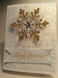 "cricut winter lace cards | Cricut. Winter Lace @ 3"". Snowflake EF."