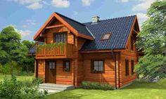 DOM.PL™ - Projekt domu MD L-73 bale CE - DOM MD1-52 - gotowy projekt domu
