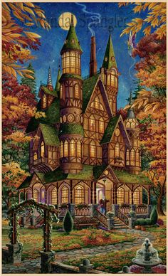 Autumn Magic byRandal Spangler  (www.randalspangler.com)