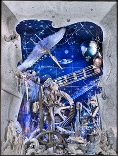 Just one of Bergdorf's mesmerizing holiday window displays in NYC I Love Holiday Windows