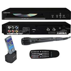 Emerson Karaoke GQ100 Karaoke Player @Judy Murua this is great! you just plug it into your tv!