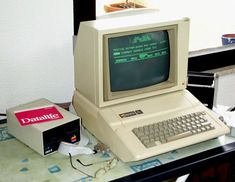 Apple II With green on green graphics this was, at the time, the greatest of the latest!