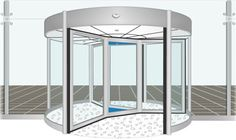 GEA: Automatic Revolving Doors