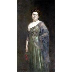 Bodarevsky 012 -  Николай Корнилиевич —  Портрет  княгини  Гагариной.