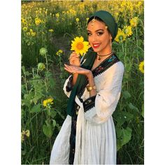 """""""And the yellow sunflower by the brook, in autumn beauty stood. Ethiopian Beauty, Ethiopian Dress, Ethiopian Traditional Dress, Traditional Dresses, African Girl, African Beauty, Black Girl Magic, Black Girls, Wedding Goals"""