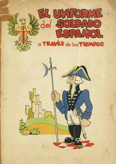 El uniforme del soldado español- Álbum de cromos publicado en los años 60-70