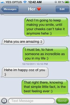 The 20 Most Romantic Texts Ever Sent – and Posted Online The 20 Most Romantic Texts Ever Sent – and Posted Online Related posts:Funny Texts From Hilarious Text Messages For You. Cute Couple Quotes, Cute Couple Text Messages, Romantic Text Messages, Text Messages Crush, Romantic Texts, Funny Text Messages, Sweet Messages, Romantic Ideas, Romantic Couples