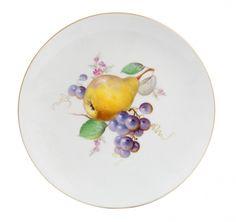 "7-1//2/"" 58 4 Salad Plates KPM Royal Ivory GERMANY Marlborough No gold rim"