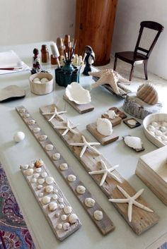 Inspirational Sea Shell Craft DIY Ideas