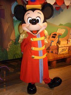 Mickey Mouse at Disney Land Tokyo