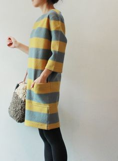 marimekko dress stripes