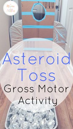Space Themed Asteroid Activities for Toddlers An easy space themed gross motor activity for toddlers!An easy space themed gross motor activity for toddlers! Space Activities For Kids, Space Theme Preschool, Preschool Activities, Outer Space Crafts For Kids, Toddler Gross Motor Activities, Space Theme Classroom, Space Kids, Space Space, Space Theme For Toddlers