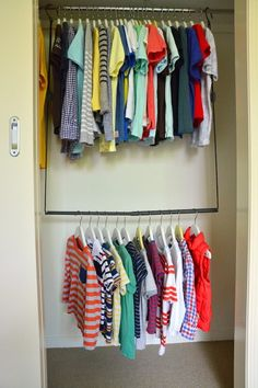 A fantastic idea for promoting independence - the wardrobe extender!