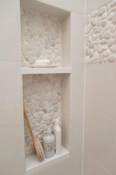 Trendy bathroom shower floor ideas that look beautiful Bad Inspiration, Bathroom Inspiration, Bathroom Ideas, Shower Ideas, Bath Ideas, Bathroom Renovations, Bathroom Designs, Shower Designs, Bathroom Makeovers