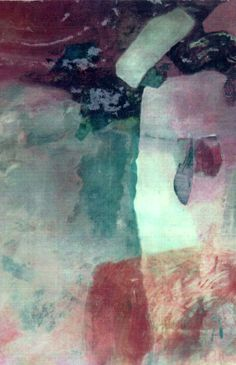 """Laura Trasi - """"One""""  Mixed Media on Paper"""