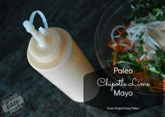 Paleo Chipotle Lime Mayo http://stupideasypaleo.com/2013/05/13/paleo-chipotle-lime-mayo/ #paleo #glutenfree #dairyfree