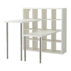 KALLAX Schreibtischkombination - weiß - IKEA