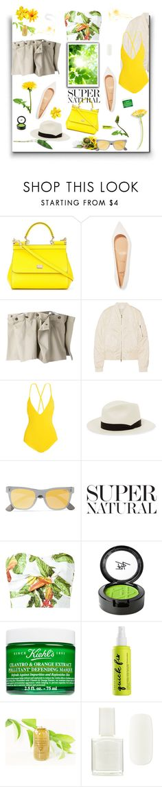 """Fresh"" by sue-mes ❤ liked on Polyvore featuring Dolce&Gabbana, Christian Louboutin, Y/Project, Victoria, Victoria Beckham, Emma Pake, rag & bone, RetroSuperFuture, Isolda, Beauty Is Life and Kiehl's"