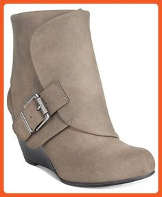 06b692ae56c1f American Rag Coreene Cuffed Wedge Booties, Created for Macy's Shoes - Boots  - Macy's