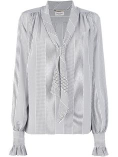 Saint Laurent Polka-Dot Blouse - a bit on the crazy side in term of prices but you get the idea :)