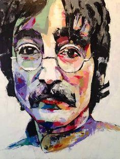 John Lennon in art