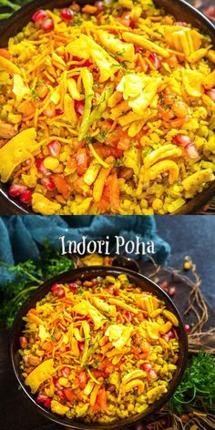 Vegetarian Breakfast Recipes Indian, Vegetarian Snacks, Indian Food Recipes, Ethnic Recipes, Cooking Recipes, Snacks Recipes, Rice Recipes, Poha Recipe, Tastemade Recipes