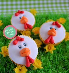 DIY Easter Cupcakes by Laura's Bakery