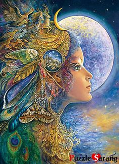 "Jigsaw Puzzles 1000 Pieces ""'DIANA"" / Josephine Wall / Masterpieces"