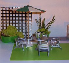 Dylan dollhouse roof by More2view, via Flickr