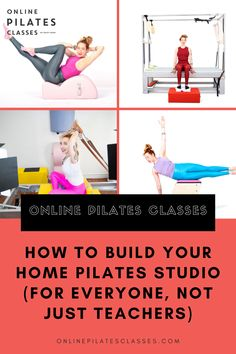 Every piece of equipment online has its dimensions so you can measure it based on the equipment you want. #pilates #pilatesstudio #pilatesclass #pilatesworkout #pilatesfitness #pilatesforbeginners Pilates Body, Pilates Reformer, Pilates Workout, Arm Toning Exercises, Fitness Exercises, Easy Workouts For Beginners, Fitness Tips, Fitness Motivation, Pilates Studio
