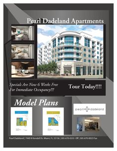 This Weekend Special @ Pearl Dadeland Apartment Homes. www.pearldadeland.com. Apartment Communities, Luxury Apartments, Tours, Pearls, Home, Beads, Ad Home, Homes, Beading
