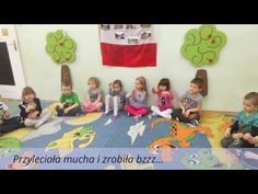 Przyleciała mucha i zrobiła bzzz Short Stories For Kids, Circle Time, Ocean Art, Music Education, Beach Mat, Youtube, Preschool, Outdoor Blanket, Arts And Crafts