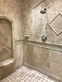 Tips, techniques, as well as manual when it comes to receiving the greatest outcome as well as attaining the max use of walk in shower tile ideas Diy Shower, Custom Shower, Shower Baby, Bathroom Floor Tiles, Bathroom Fixtures, Tile Floor, Wall Tile, Bathroom Wall, Walk In Shower Designs