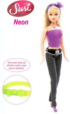 Susi Neon Estrela - sapekinhatoys