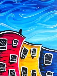 Hey! Check out Windy Downtown Day at Buds Blazin' BBQ at the Yellowhead Inn - Paint Nite